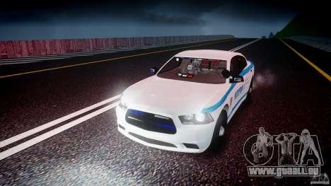 Dodge Charger NYPD 2012 [ELS] pour GTA 4 est une vue de dessous