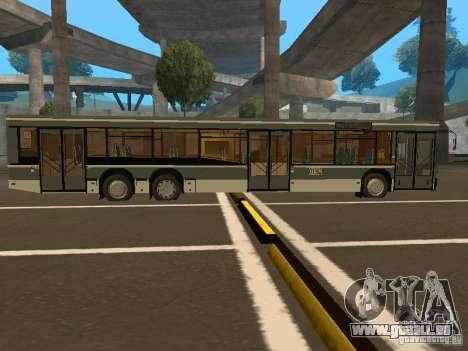 MAZ-107.066 für GTA San Andreas zurück linke Ansicht