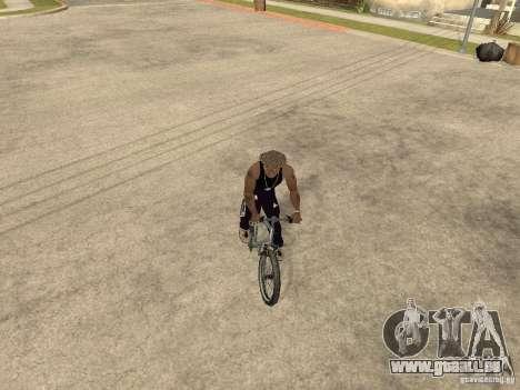 Masquer-get armes dans la voiture pour GTA San Andreas sixième écran