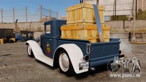 Ford Farmtruck MF 1932 für GTA 4 hinten links Ansicht