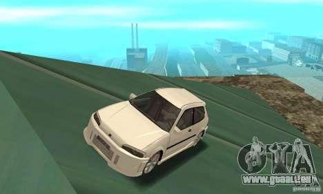 Honda Civic SiR II Tuning für GTA San Andreas