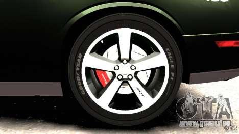 Dodge Challenger SRT8 392 2012 Police [ELS][EPM] für GTA 4 Innen