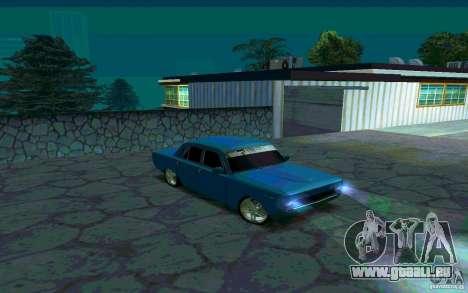 GAZ 24 v 1.0 pour GTA San Andreas laissé vue