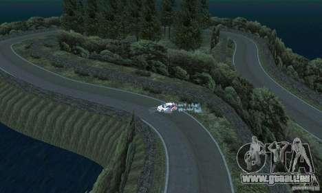L'itinéraire du rallye pour GTA San Andreas septième écran