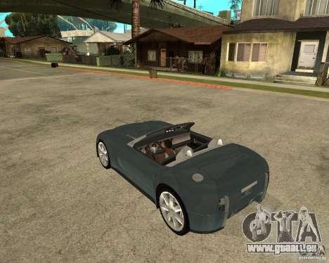 Ford Cobra Concept für GTA San Andreas linke Ansicht
