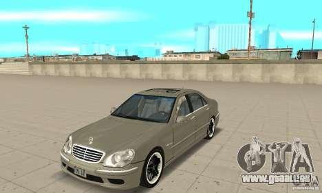 Mercedes-Benz S65 AMG 2004 pour GTA San Andreas