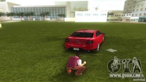 Ford Taurus pour une vue GTA Vice City de la gauche