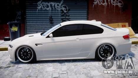 BMW M3 Hamann E92 für GTA 4 hinten links Ansicht