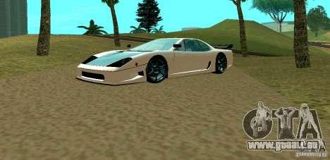 New Turismo pour GTA San Andreas laissé vue