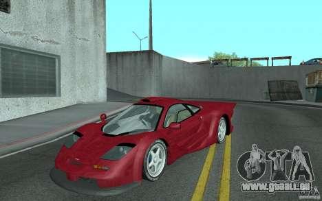 Mclaren F1 GT (v1.0.0) für GTA San Andreas