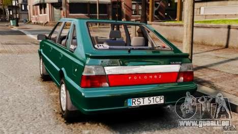 Daewoo-FSO Polonez Caro Plus 1.6 GSI 1998 Final pour GTA 4 est une gauche