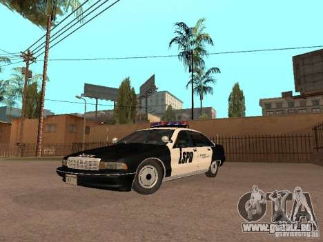 Chevrolet Caprice 1991 LSPD pour GTA San Andreas