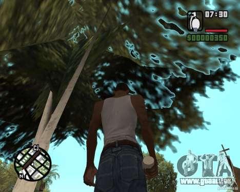 Ragoût explosive pour GTA San Andreas deuxième écran