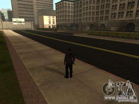 Construction de nouvelles routes à Los Santos pour GTA San Andreas quatrième écran
