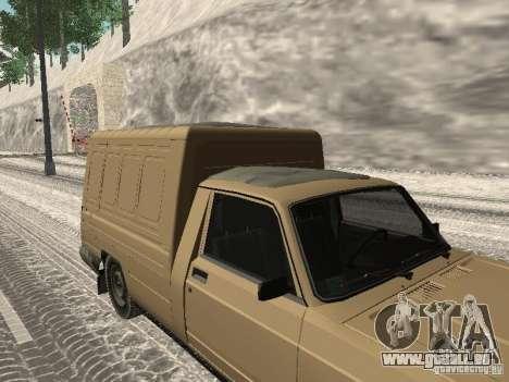 IZH 27175 édition hiver pour GTA San Andreas sur la vue arrière gauche