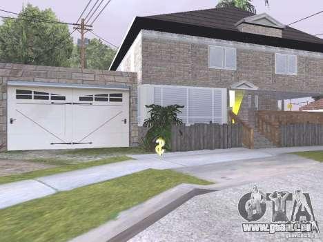 CJ Total House Remodel V 2.0 pour GTA San Andreas sixième écran