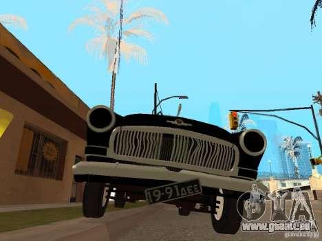 Volga 21 für GTA San Andreas Rückansicht