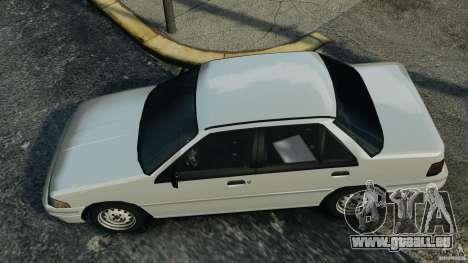 Mercury Tracer 1993 v1.1 pour GTA 4 est un droit