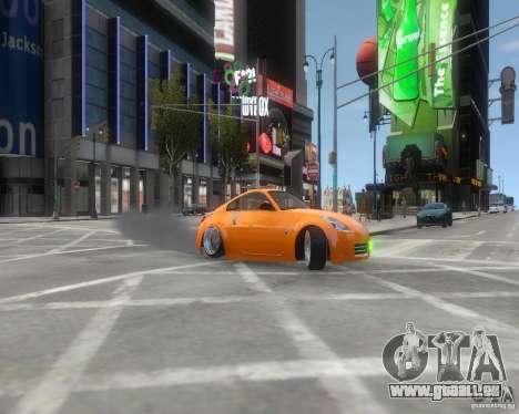 Nissan 350Z pour GTA 4 Vue arrière