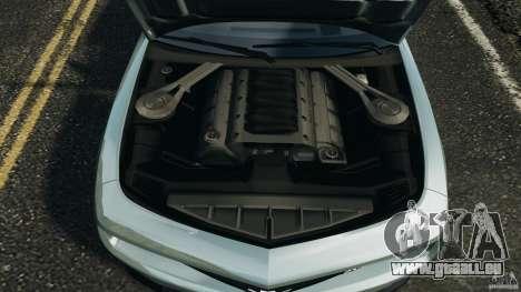 Chevrolet Camaro ZL1 2012 v1.2 pour GTA 4 vue de dessus