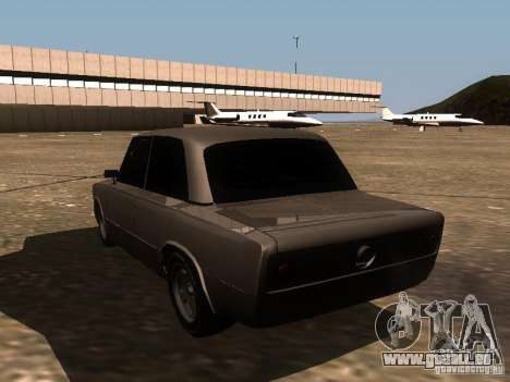 VAZ 2106 Drag Racing für GTA San Andreas zurück linke Ansicht