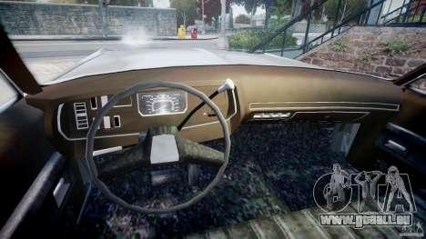 Dodge Monaco 1974 pour GTA 4 Vue arrière