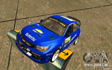 Nouveau vinyle pour Subaru Impreza WRX STi pour GTA San Andreas