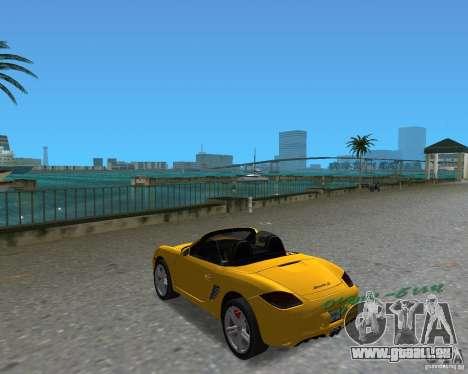 Porsche Boxster 2010 für GTA Vice City rechten Ansicht