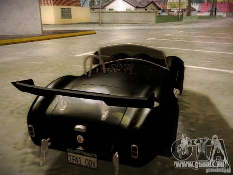 Shelby Cobra 427 pour GTA San Andreas salon