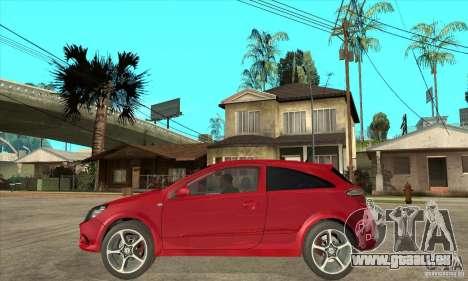 Opel Astra für GTA San Andreas linke Ansicht