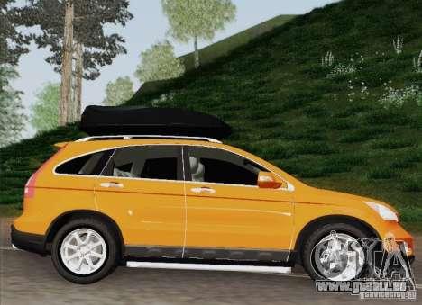Honda CRV 2011 für GTA San Andreas zurück linke Ansicht