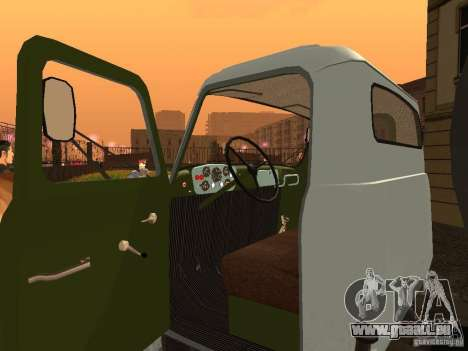 GAZ 53 Flusher für GTA San Andreas Rückansicht