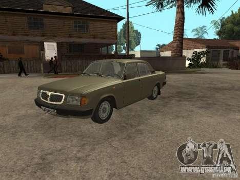 GAZ 3110 v 1 pour GTA San Andreas