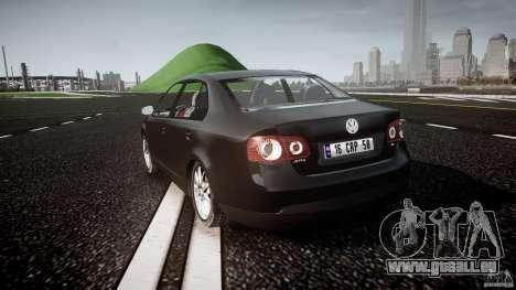 Volkswagen Jetta 2008 pour GTA 4 Vue arrière de la gauche