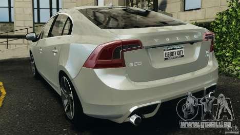 Volvo S60 R-Designs v2.0 für GTA 4 hinten links Ansicht
