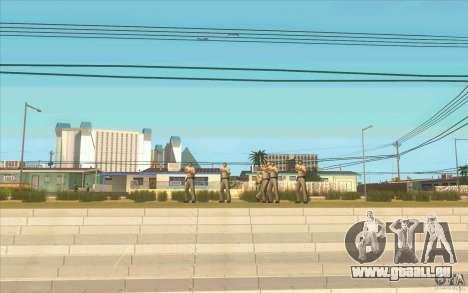 6 étoiles pour GTA San Andreas troisième écran