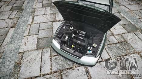 Honda CRX 1991 für GTA 4 Rückansicht