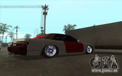 Nissan Silvia S13 Drift für GTA San Andreas zurück linke Ansicht