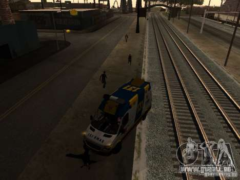 Mercedes-Benz Sprinter Ambulancia für GTA San Andreas linke Ansicht