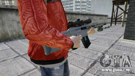 RSASS MW3 (Sniper) für GTA 4 dritte Screenshot