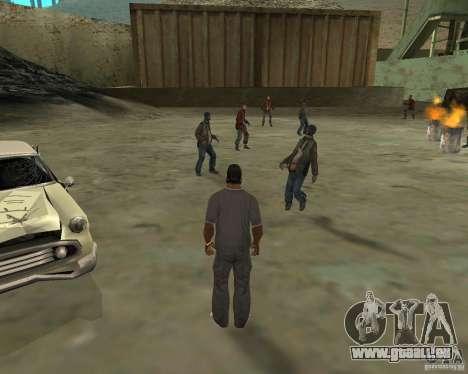 Barney Obdachlose für GTA San Andreas zweiten Screenshot