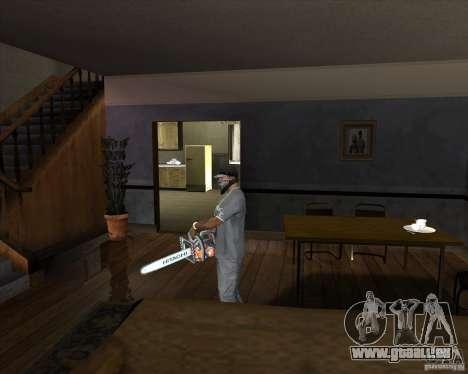 Neue Kettensäge für GTA San Andreas zweiten Screenshot