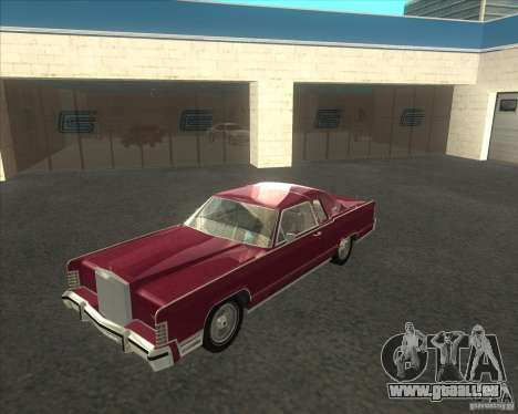 Lincoln Continental Town Coupe 1979 pour GTA San Andreas