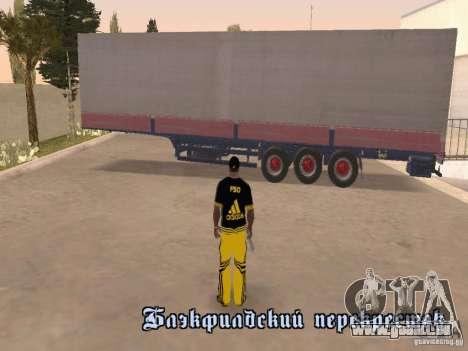 Kogel pour GTA San Andreas vue de droite