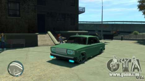 VAZ 2107 LENSO pour GTA 4