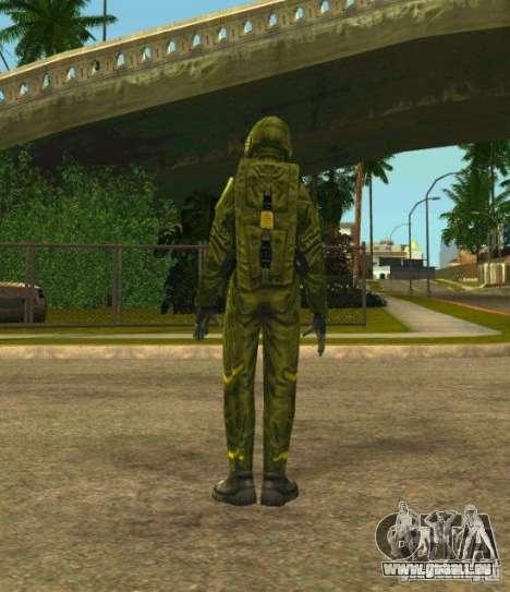 Peaux de S.T.A.L.K.E.R. pour GTA San Andreas troisième écran