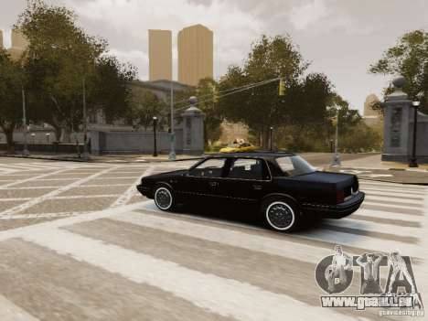 Oldsmobile Cutlass Ciera 1993 pour GTA 4 Salon
