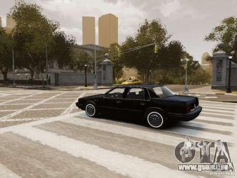 Oldsmobile Cutlass Ciera 1993 für GTA 4 Innen