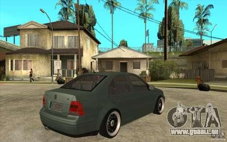 VW Bora pour GTA San Andreas vue de droite