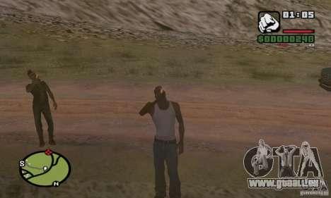 Entspannung im Tal für GTA San Andreas dritten Screenshot